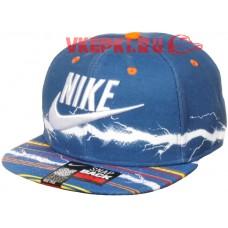 Кепка Nike голубая арт.1332