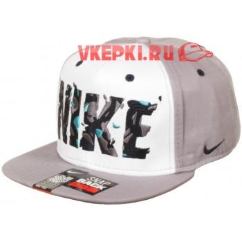 Кепка Nike серого цвета