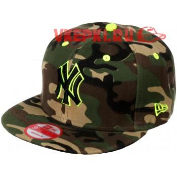 Бейсболка NEW YORK цвета хаки
