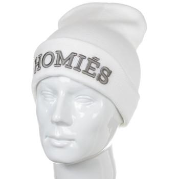 Шапка Homies белого цвета
