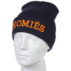 Шапка Homies темно-синяя арт.836
