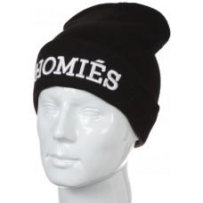 Шапка Homies черная арт.837