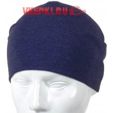 Шапка-чулок синяя арт.1266