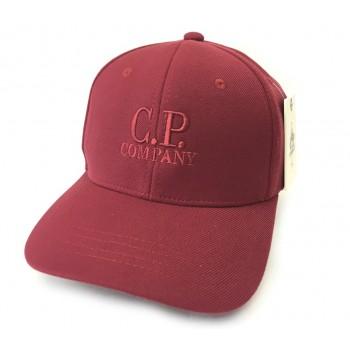 Кепка C.P Company с линзами бордовая