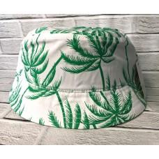 Панама Palma Белый с зеленым арт. 4015