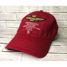 Кепка Aeronautica Militari 2  Бордо арт. 4078