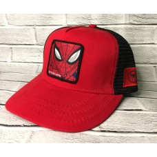Кепка с сеткой Spider Man Красный арт. 4190