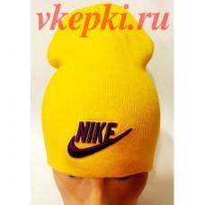 Шапка-чулок Nike желтая арт.1478