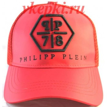 Кепка Philipp Plein красная