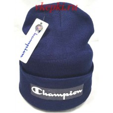 Шапка Champion синяя арт.1702