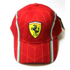 Кепка Ferrari красная Арт.198