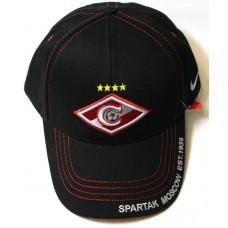 Кепка Спартак черная арт.236