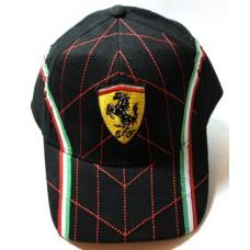Кепка Ferrari черная арт.802