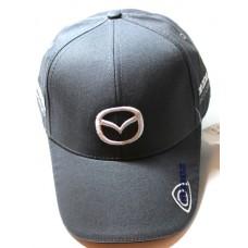 Кепка Mazda серая арт.804