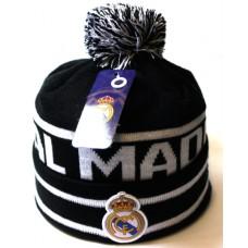 Шапка Real Madrid черно-белая арт.1070