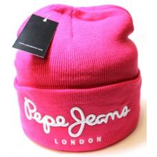 Шапка Pepe Jeans розовая арт.1082