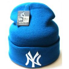 Шапка New York голубая арт.1088