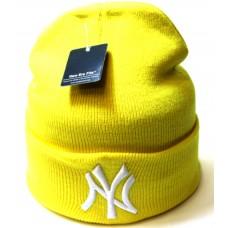 Шапка New York желтая арт.1091