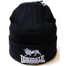 Шапка Lonsdale черная арт.1098