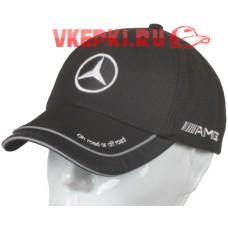 Кепка Mercedes черная арт.101